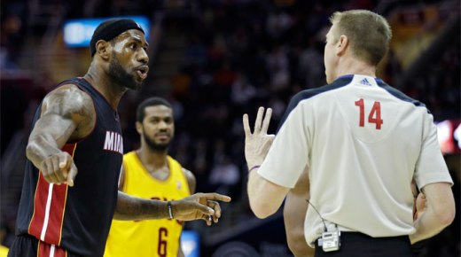 NBA Wrap: LeBron James scores 28 as Heat down Cavs 95-84